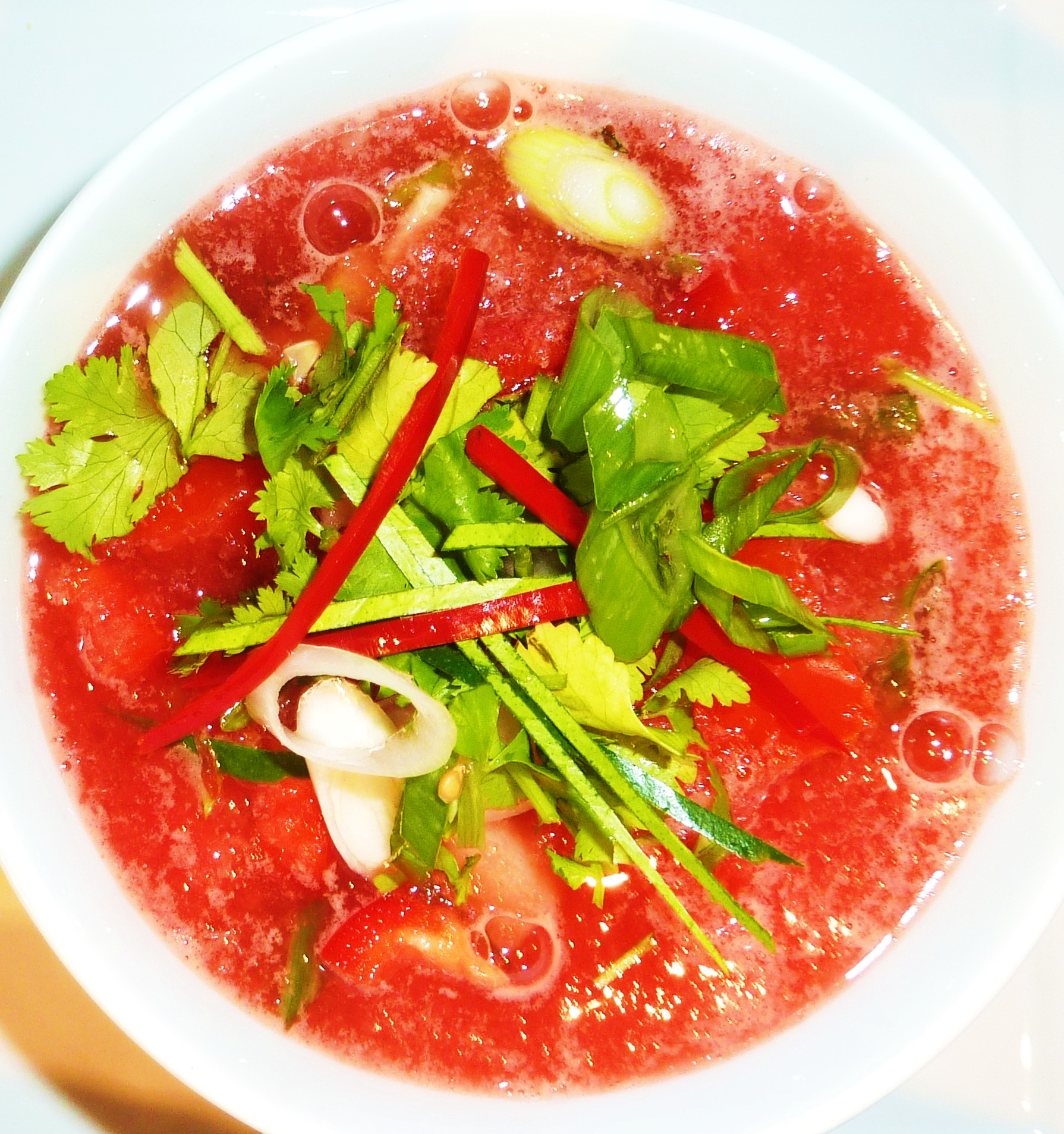 Watermelon Gazpacho Soup – Raw Recipe | Food Smart