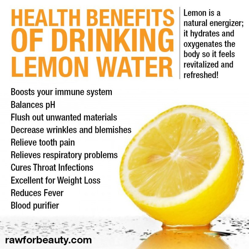 Lemon Juice and water detox