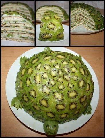 Fruity Turtle Cake