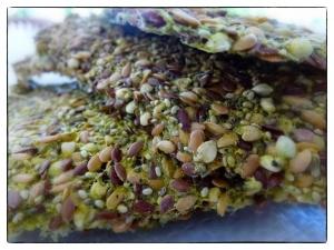 3 Seed Crackers Buck wheat, Chia & Flax seeds